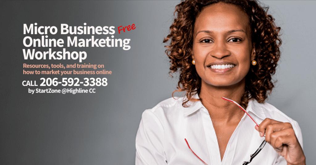 FREE Online Marketing Classes @ Highline CC