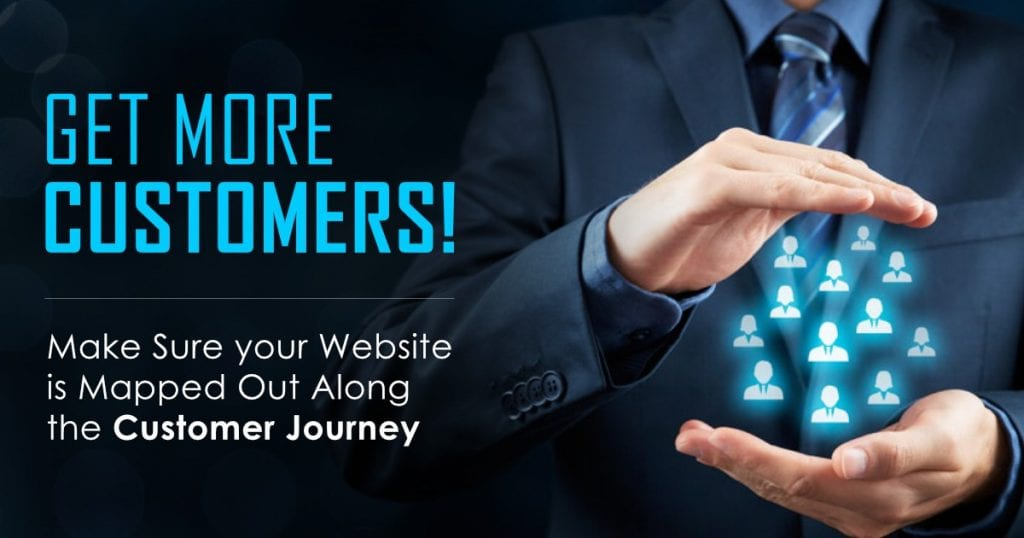 Get More Customers! Make Sure your Website is Mapped Out Along the Customer's Journey