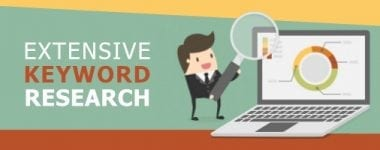 Extensive Keyword Research