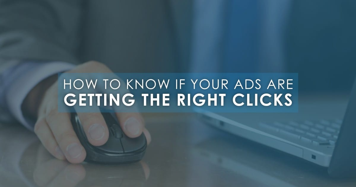 Getting the Right Clicks