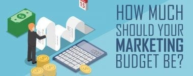 How much should your marketing budget be?